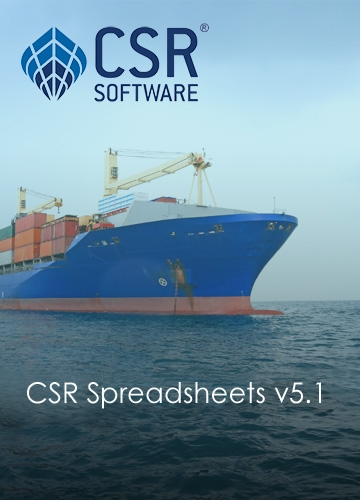 Picture of CSR Spreadsheets v5.1